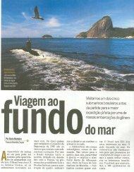 parcialmente submersa na Baia - Marinha do Brasil