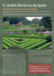 O Jardim Botânico da Ajuda