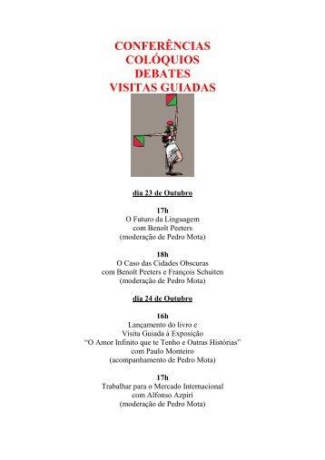 Debates/Visitas Guiadas - Amadora BD