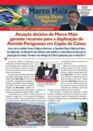 Atuação decisiva de Marco Maia garante recursos para a ...