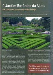 0 Jardim Botânico da Ajuda - Instituto Superior de Agronomia ...