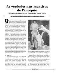as verdades nas mentiras de pinóquio.pdf - Portal PUC-Rio Digital