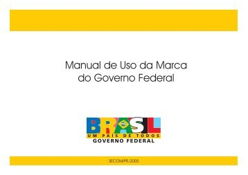 Manual de Uso da Marca do Governo Federal - IFRS