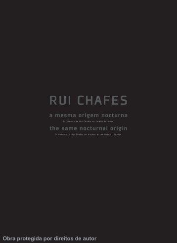 Rui Chafes (2008).preview.pdf - Universidade de Coimbra