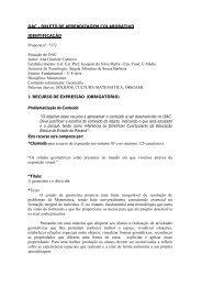 OBJETO DE APRENDIZAGEM COLABORATIVO IDENTIFICAÇÃO ...