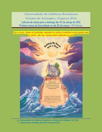 Comunidade de Católicos Brasileiros Diocese ... - Fontecatolica.com