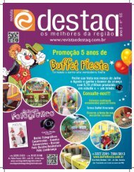 Julho 2012 - Revista É Destaq