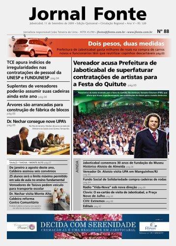 Edição 88 - Jornal Fonte