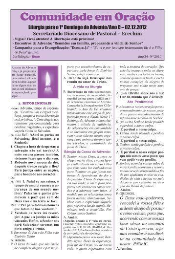 missas dez 2012.pmd - Diocese de Erexim