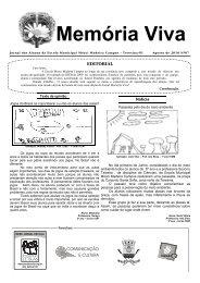 Memória Viva - Portal do Jornal Escolar