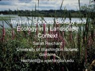Invasive Species Biology and Ecology in a Landscape Context