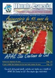 mundo especial 2 ed 2009.pmd - APAE São Caetano do Sul