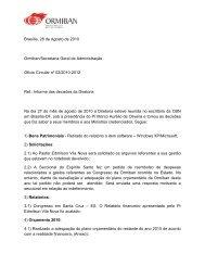 Ofício Circular nº 02/2010-2012 - Ormiban
