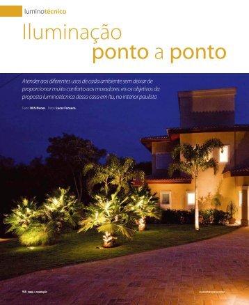 Iluminação ponto a ponto - Renata Meirelles
