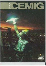 Revista comemorativa Cemig 40 anos