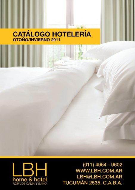 CATÁLOGO HOTELERÍA - LBH