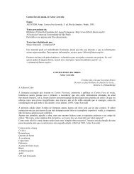 Contos fora da moda, de Artur Azevedo Fonte - EE JOSE DE ...