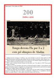Maracanã, 1º de junho de 1968 - Bangu