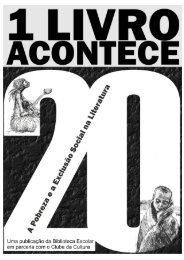 1 Livro Acontece - 20ª ed. - Escola Secundária/3 de Felgueiras