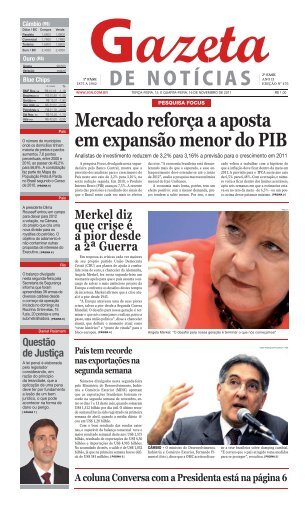 Mercado reforça a aposta em expansão menor do PIB - Jgn.com.br