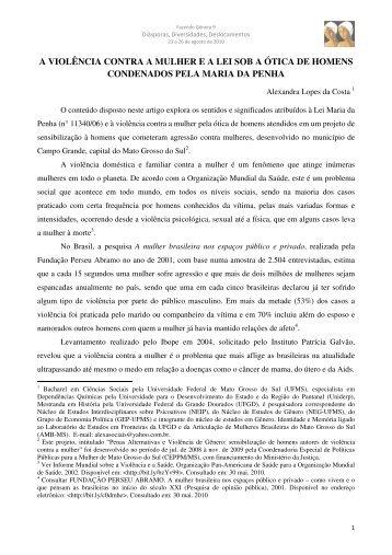 Alexandra Lopes da Costa - Fazendo Gênero 10