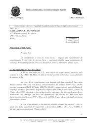 Ilma. Sra. ISABEL BARBOSA DE OLIVEIRA M.D. ... - Creci-SP