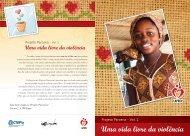 Uma vida livre da violência - Centre for Children and Families in the ...