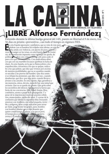 Enero: Alfonso libre