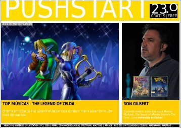PUSHSTART N23 - Revista Digital de Videojogos Pushstart