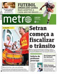 FUTEBOL - Metro