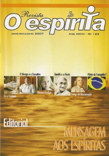 Capa 123 escaneada - Revista Espírita