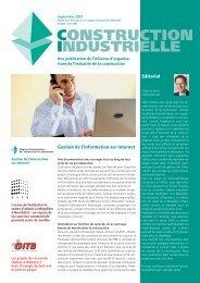 CONSTRUCTION INDUSTRIELLE - Hälg Holding AG