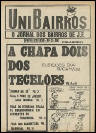 O JORNAL DOS BAIRROS DE J.F.