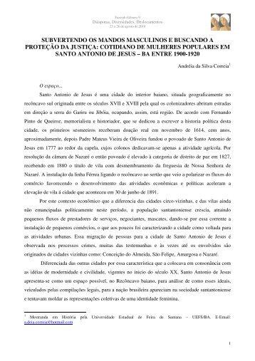 Andréia da Silva Correia - Fazendo Gênero 10