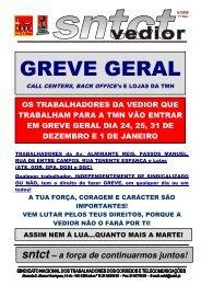GREVE GERAL - SNTCT