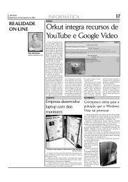 Orkut integra recursos de YouTube e Google Video - A PLATÉIA On ...