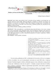 Fabiana Francisca Macena - XVIII Encontro Regional (ANPUH-MG)