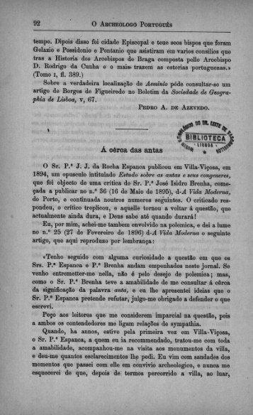 92 I O Ascusonoeo Posfrucniãs - Bibliotecas
