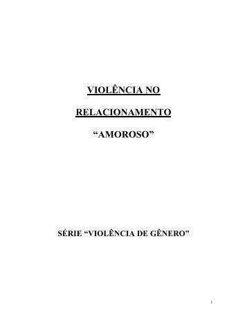 Violência no Relacionamento Amoroso - Coletivo Feminista ...
