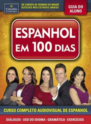 curso completo audiovisual de espanhol - ESPANHOL EM 100 DIAS