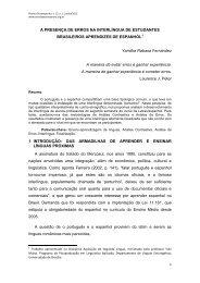 A PRESENÇA DE ERROS NA INTERLÍNGUA DE ... - let.unb.br - UnB