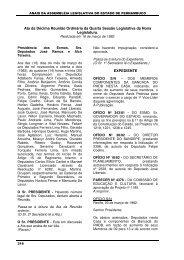 16/03/1982 - Assembleia Legislativa do Estado de Pernambuco