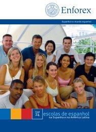 24 escolas de espanhol - Enforex