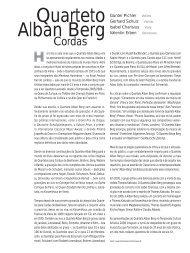 Quarteto Alban Berg - Cultura Artística
