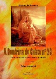A Doutrina de Cristo Nº. 20 - Webnode