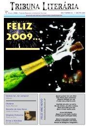 feliz 2009... - tribuna literária