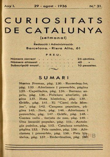 curios itats de catalunya - Dipòsit Digital de Documents de la UAB