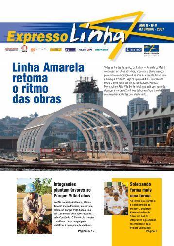 Linha Amarela 08.pmd - Linha 4 - Amarela