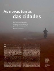 das cidades - Revista Pesquisa FAPESP