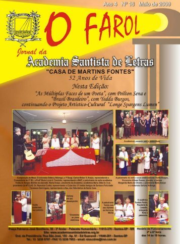 20656 - O FAROL 15 - Academia Santista de Letras